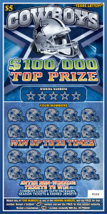Texas Lottery Second Chance Scratch Off Games and Drawings
