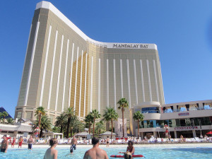 July temperatures in Las Vegas can reach 117 degrees.