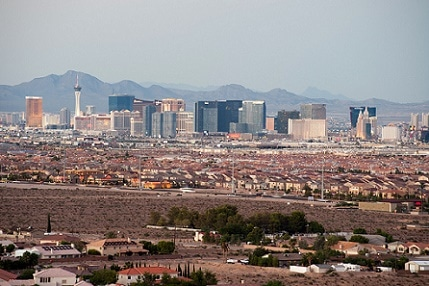 The temperature in Las Vegas once hit 118 degrees (but it was a dry heat)