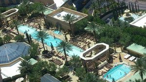 May weather in Las Vegas is perfect pool weather