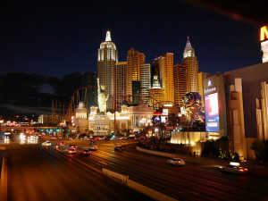 Nighttime temperatures in May in Las Vegas are usually very comfortable