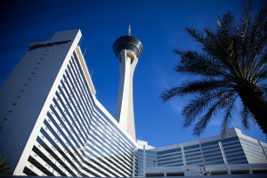 There is lots of free parking at the Stratosphere in Las Vegas