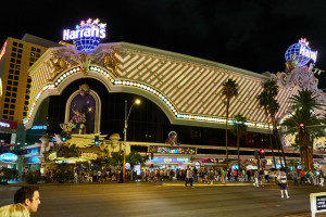 There's lots of parking at Harrah's Las Vegas