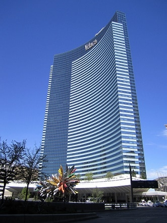There's only valet parking at the Vdara