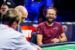 Daniel Negreanu at a WSOP Final Table