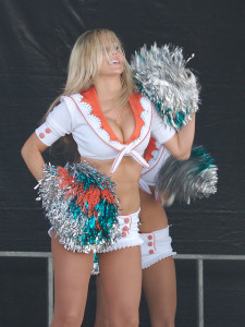 DraftKings is legit and safe and has partnership agreements with NFL teams - but not individual cheerleaders