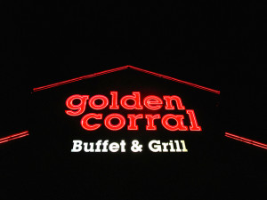 There is just one Golden Corral in Las Vegas