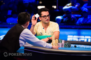 Antonio Esfandiari at the WSOP