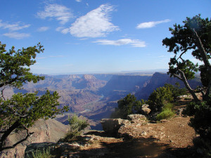 The Grand Canyon is just over a 4 hour drive from Las Vegas