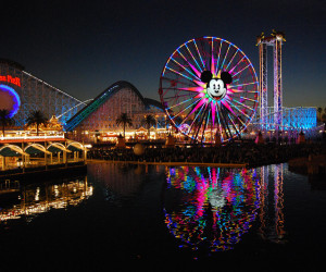 Disneyland's California Adventure is just a 4 to 5 hour drive from Las Vegas