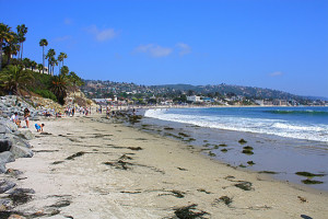 Main Beach at Laguna Beach