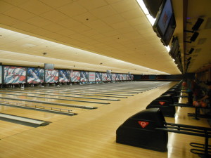 Sam's Town's Bowling Alley has 56 Lanes