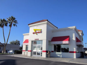 The In-N-Out Burger on Sahara