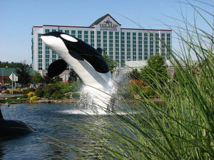 The Tulalip Casino north of Seattle