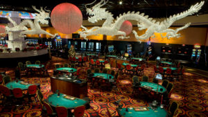 The WinStar has just over a half million square feet of gaming space