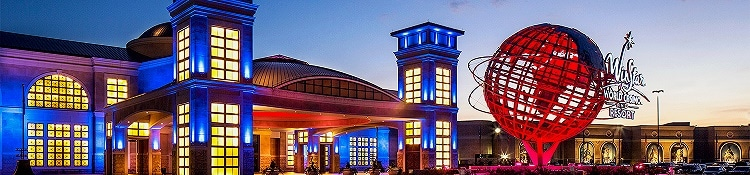 The WinStar is the largest casino in the United States