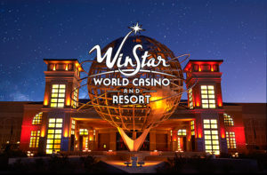 The WinStar is the closest casino to Dallas