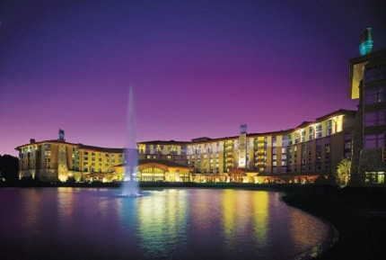 The massive Soaring Eagle Casino is 72 miles north of Lansing, Michigan