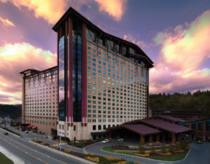 Harrah's Cherokee Casino is 161 miles from downtown Atlanta