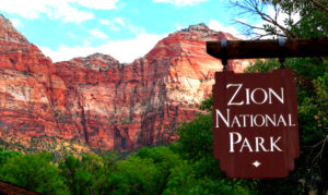 Las Vegas is 165 miles away from Zion National Park