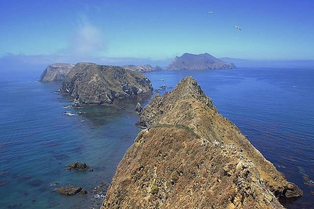 Channel Islands National Park off the California coast
