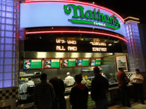 Nathan's Famous Hot Dogs at the MGM Grand Food Court