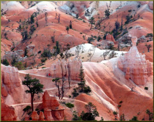 No, not another planet. It's Bryce Canyon.