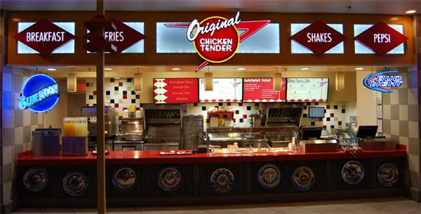 Original Chicken Tender at the Luxor Food Court