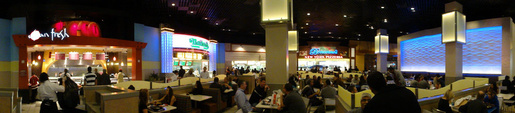 Here S A View Of The Mgm Grand Food Court And Seating Area