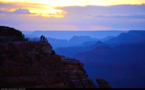 The Grand Canyon is one of the national parks near Las Vegas