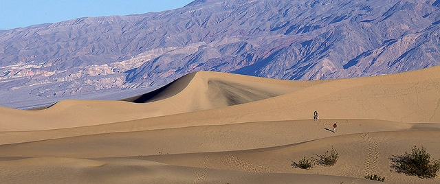 The national park nearest to Las Vegas is Death Valley
