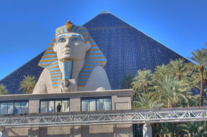There are a variety of fast food options inside the Luxor Las Vegas