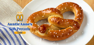 Auntie Anne's Pretzels at the Excalibur