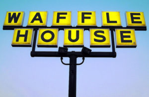 There currently isn't a Waffle House restaurant in Las Vegas