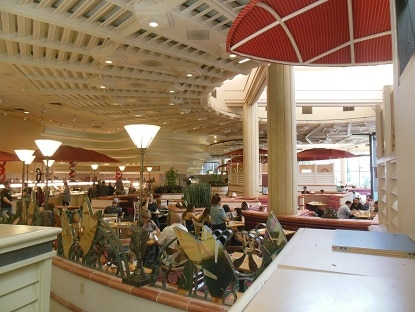 A look inside the buffet at the Flamingo