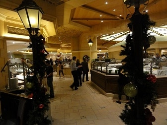 A peek inside the Bellagio Buffet