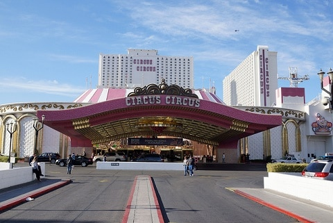 Circus Circus has one of the more affordable buffets in Las Vegas