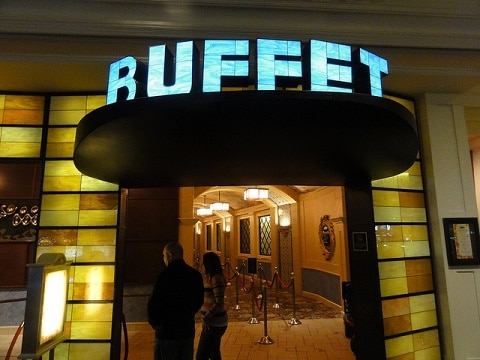Entrance to the Buffet at the Bellagio