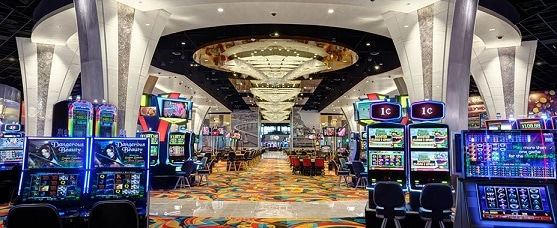 Inside the Hollywood Casino Jamul near San Diego