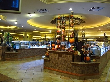 Inside the MGM Grand Buffet
