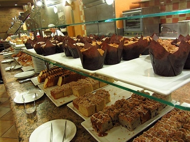 Some sweets at the MGM Grand Buffet