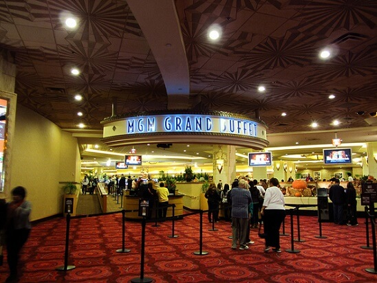 The entrance to the MGM Grand's buffet