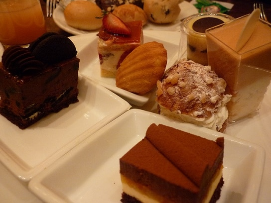 More desserts at the Wynn