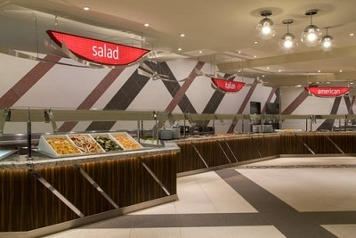 Excalibur Buffet Stations