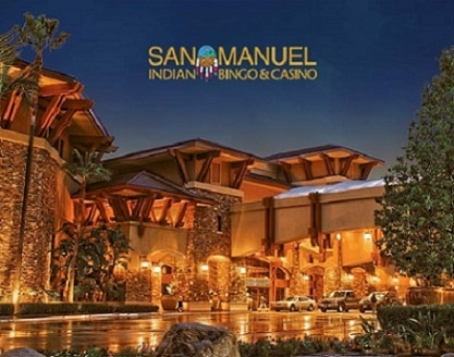 San Manuel Indian Bingo & Casino is the closest casino to Los Angeles