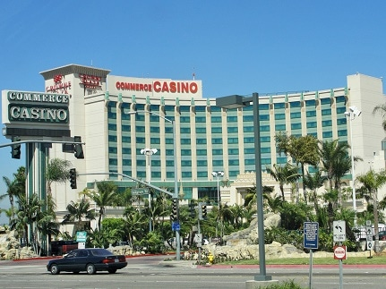 The Commerce Casino is the largest cardroom in California