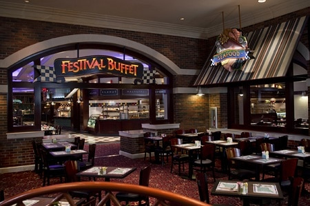 Festival Buffet at Foxwoods