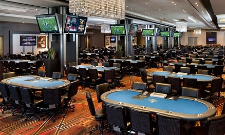 The new poker room at the Seminole Hard Rock in Tampa