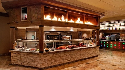 One of the stations at Rio's Carnival World Buffet