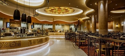 The Gran Via Buffet at the WinStar